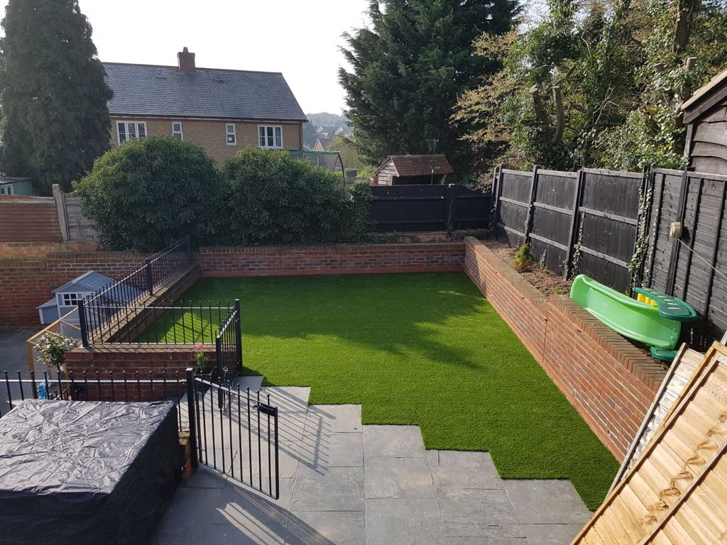Artificial grass for raised garden | Bedford | Bedfordshire