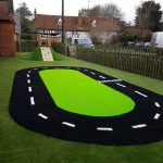 Artificial grass installation for schools