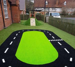 Artificial grass installation for schools