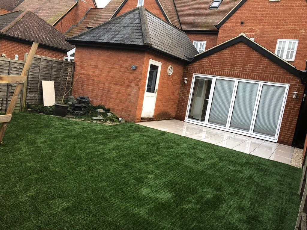 Artificial grass installation company Bedford