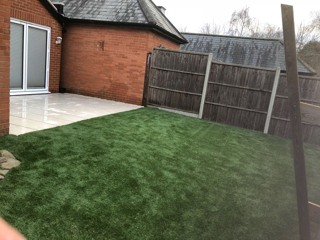 Artificial grass installation company Stevenage