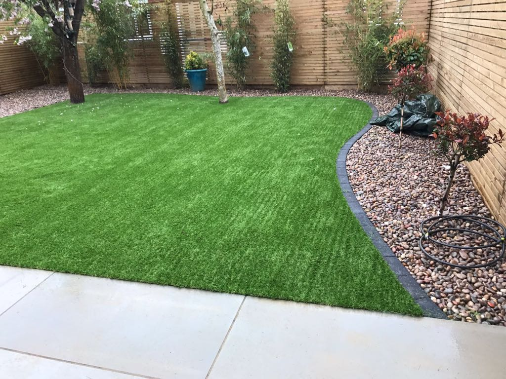 Artificial grass and landscaping Harpenden