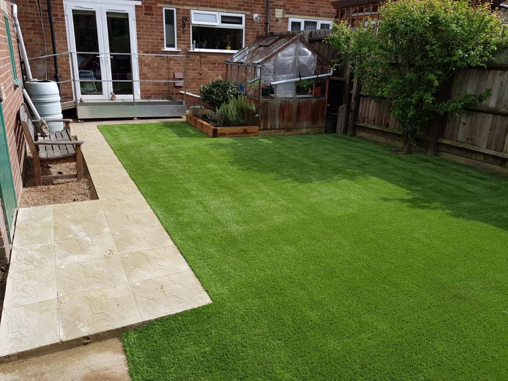Artificial grass harpenden
