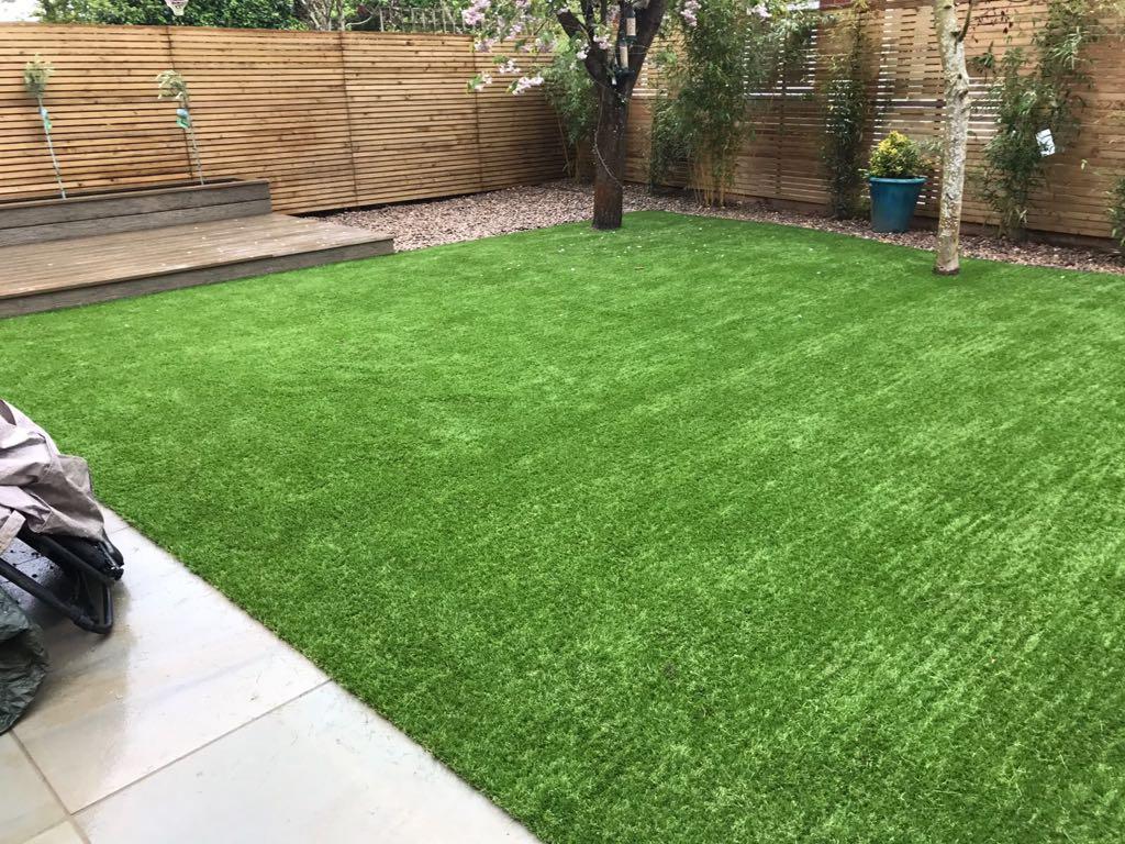 Replace grass with artificial grass | Bedford artificial grass