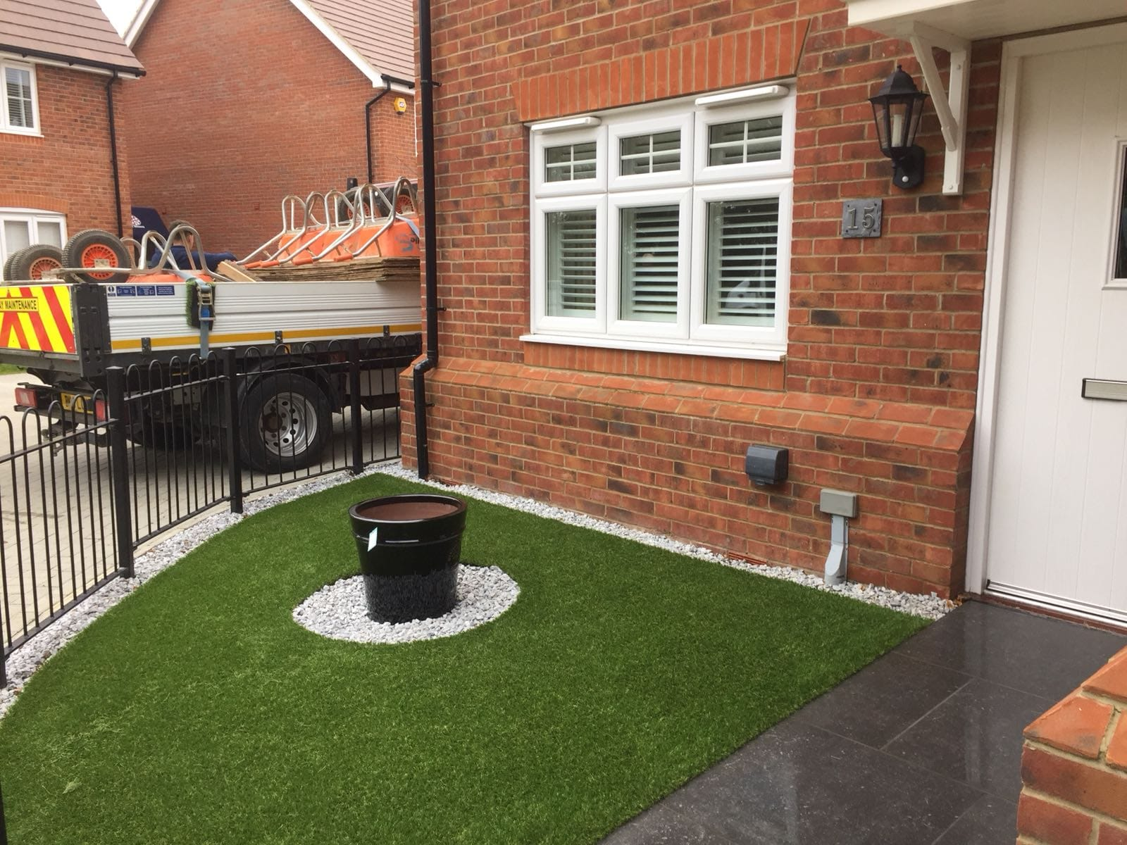 Artificial grass installers stevanage